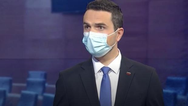 Tonin v pogoru za TV Slovenija napovedal, kdo bo novi predsednik Državnega zbora (foto: TV Slovenija/posnetek zaslona)