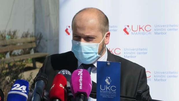 Minister Poklukar vabi k cepljenju in poziva k premagovanju predsodkov (foto: Gregor Mlakar/STA)