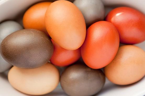 Katere so naravne barve za velikonočne pirhe?