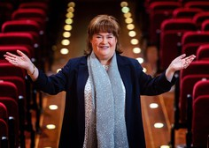 Škotska pevka Susan Boyle praznuje 60 let