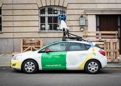 Google bo od 8. aprila dalje v Sloveniji ponovno fotografiral ulice
