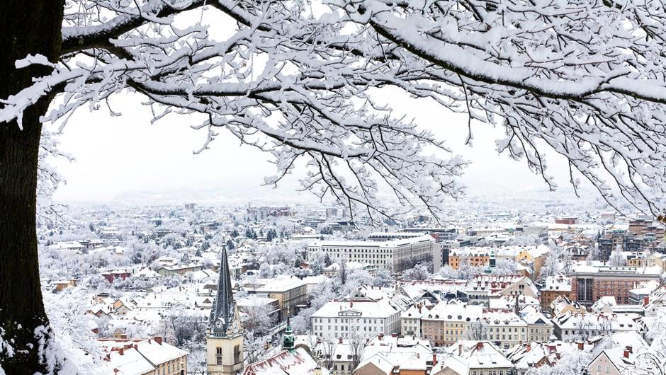Arso: Pred nami je izrazit vremenski preobrat, zima bo v prihodnjem tednu močneje zamahnila z repom (foto: Shutterstock)