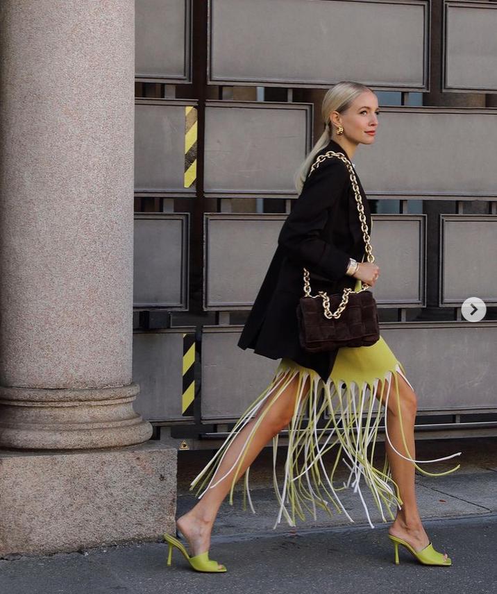 To je najbolj modna kombinacija dveh klasičnih kosov, ki jo bomo oboževali to pomlad (foto: Instagram)