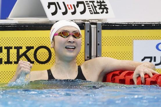 Japonska plavalka Rikako Ikee premagala levkemijo in se uvrstila na olimpijske igre