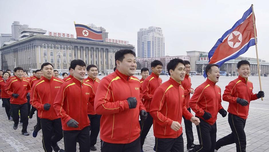 Severna Koreja zaradi zaščite športnikov pred pandemijo odpovedala nastop v Tokiu (foto: Profimedia)