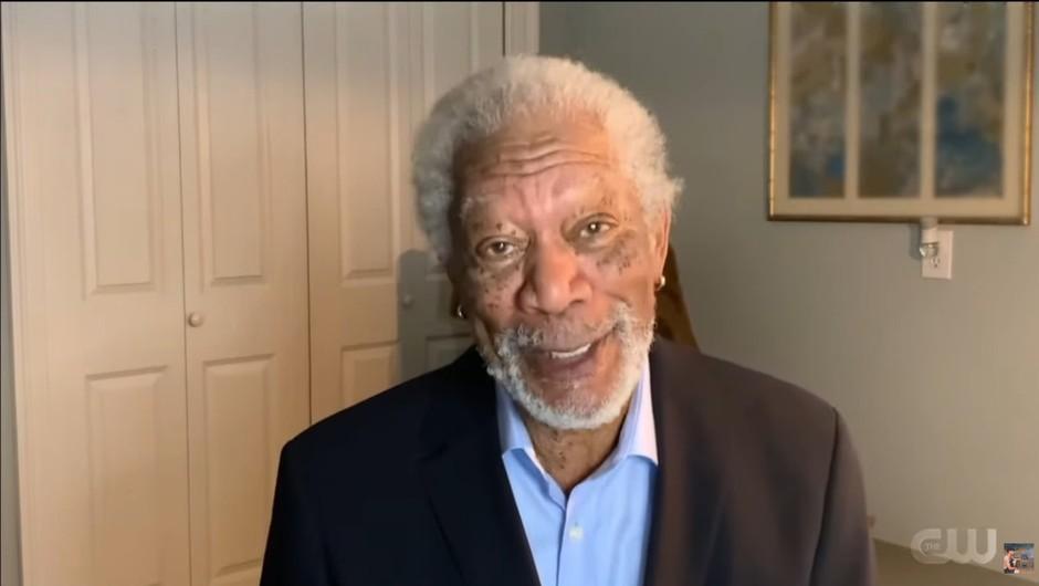 """Morgan Freeman: """"Tukaj sem, da vam povem, da verjamem v znanost!"""" (foto: profimedia)"""