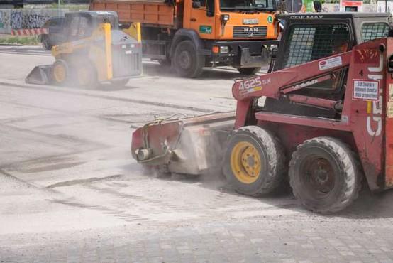 Ulica Bežigrad v Ljubljani zaradi prenove zaprta več tednov