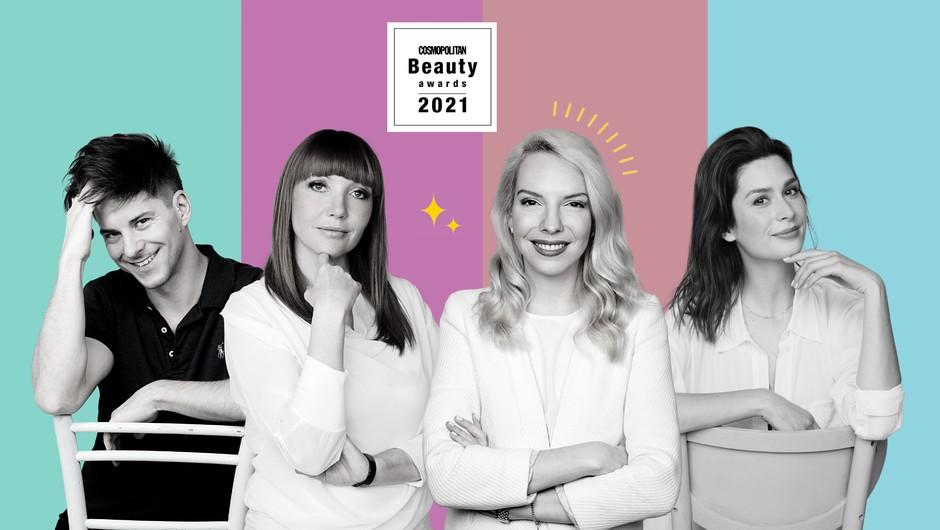 Poglej,  kdo so člani letošnje žirije za Cosmopolitan Beauty Awards 2021 💅🏼(pst, enega ZAGOTOVO že poznaš) (foto: Aleksandra Saša Prelesnik / AML; obdelava: Nina Skok)