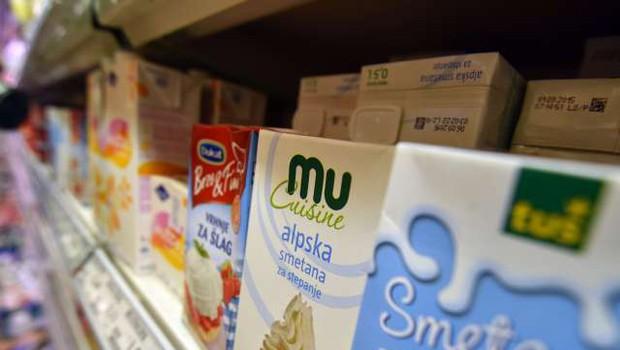 Cene hrane marca najvišje v skoraj sedmih letih (foto: Tamino Petelinšek/STA)
