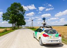Googlovi avtomobili začenjajo snemati slovenske ulice