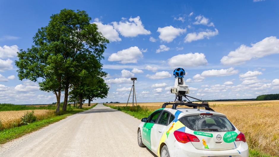 Googlovi avtomobili začenjajo snemati slovenske ulice (foto: Shutterstock)