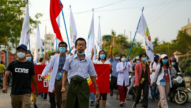 Mjanmarska vojska ne popušča pri nasilnem zatiranju protestov (foto: profimedia)