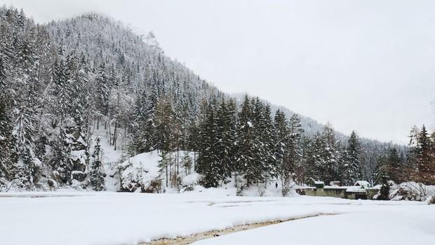Torkovo jutro bo marsikje po Sloveniji spet sneženo (foto: Profimedia)