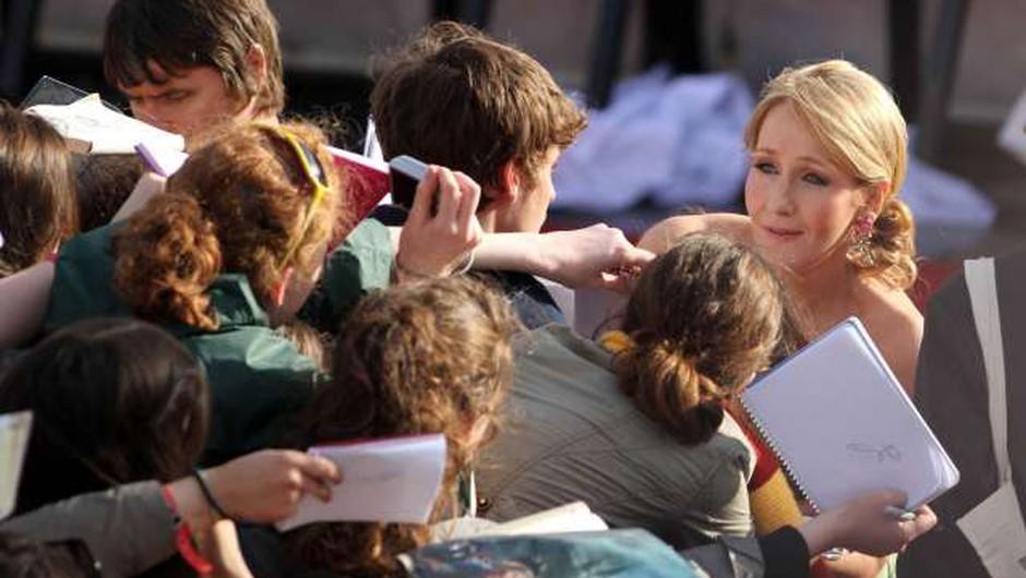 J. K. Rowling oktobra s knjigo za otroke o božičnem prašičku (foto: Xinhua/STA)