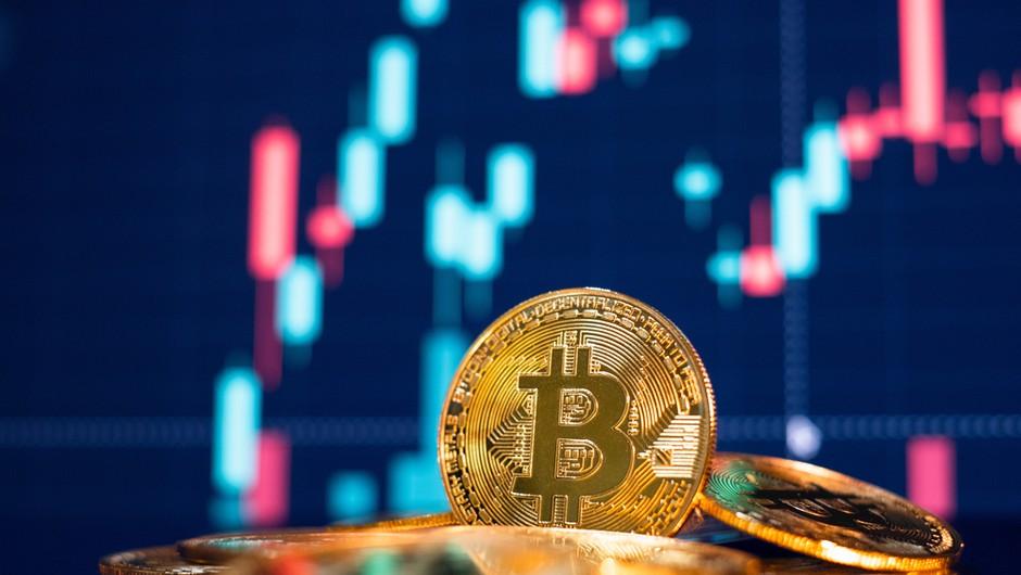 Rast bitcoina se ne ustavlja, v današnjem trgovanju dosegel novo rekordno vrednost (foto: Shutterstock)