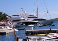 Na Hrvaškem plačevanje turistične takse za plovila le še prek spleta