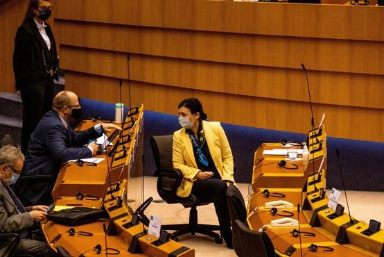 Jourova: Janez Janša mednarodnega ugleda Slovenije očitno ne jemlje dovolj resno