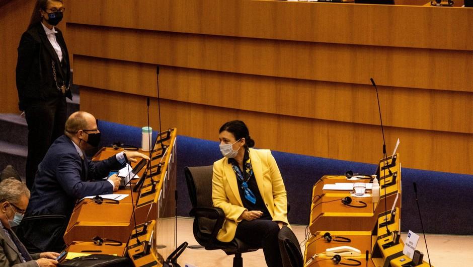 Jourova: Janez Janša mednarodnega ugleda Slovenije očitno ne jemlje dovolj resno (foto: profimedia)