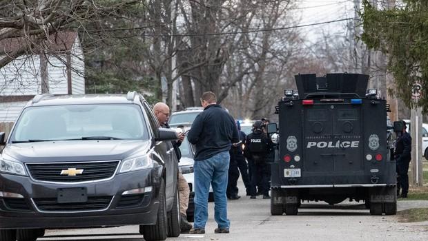 V strelskem napadu v podjetju FedEx najmanj osem žrtev, storilec si je sodil sam (foto: profimedia)