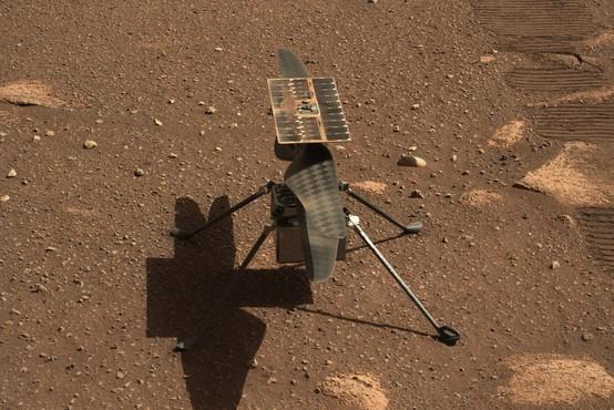Helikopter Ingenuity opravil prvi polet na Marsu