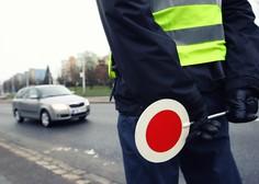 Do nedelje bo potekla preventivna akcija nadzora hitrosti na slovenskih cestah