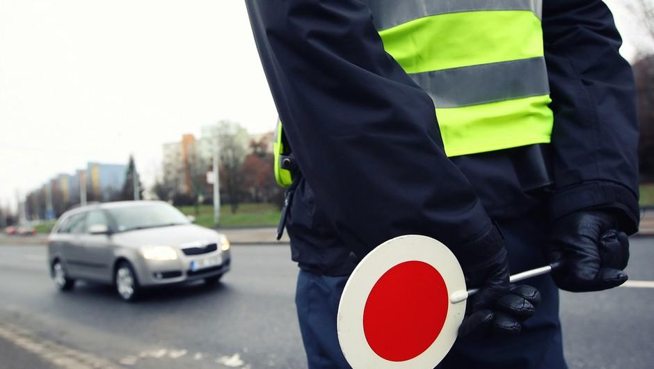 Do nedelje bo potekla preventivna akcija nadzora hitrosti na slovenskih cestah (foto: Shutterstock)