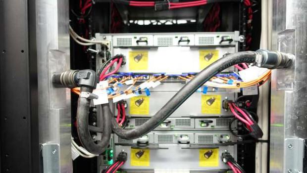 Superračunalnik Bura na Sveučilišču na Reki. (foto: Lea Udovič/STA)