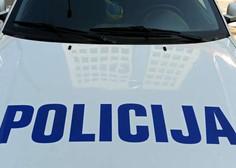 Na Celjskem 25-letni voznik poskušal povoziti policistko