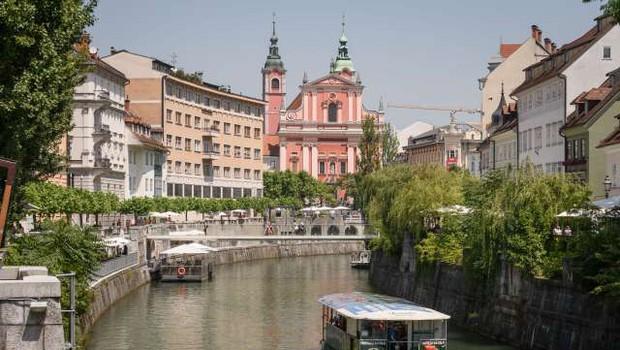 Turizem Ljubljana s kampanjo predstavlja koristi turizma (foto: Nebojša Tejić/STA)