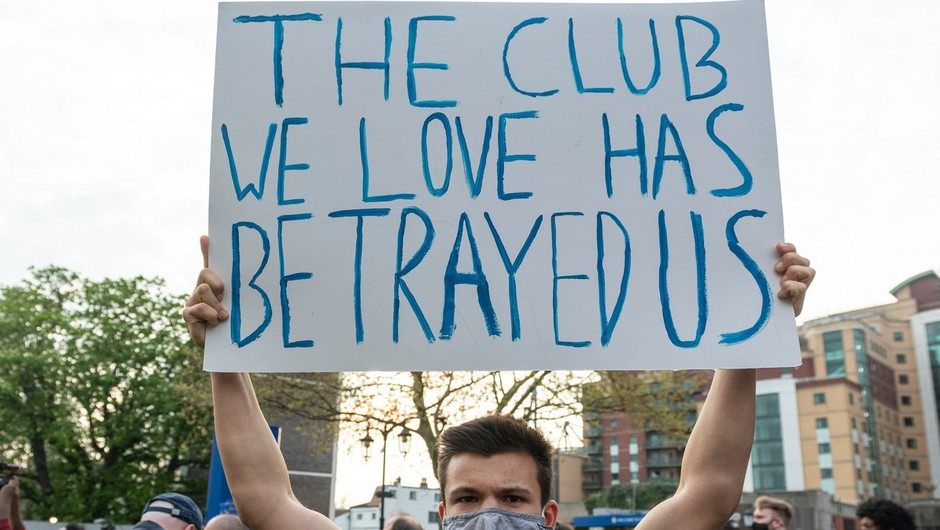 Ustanovitev superlige očitno ne bo uspela, šest angleških klubov izstopilo, podobno naj bi razmišljali tudi ostali (foto: Profimedia)