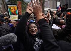 Policist spoznan za krivega za umor Floyda, Biden po obsodbi pozval k boju proti rasizmu