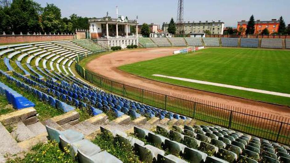 Bežigrajski športni stadion, spomenik Jožeta Plečnika, še naprej propada (foto: Daniel Novakovič/STA)
