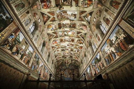 Michelangelov navdih med razkritimi vatikanskimi skrivnostmi