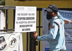 Indija postaja nov epicenter pandemije, številne države omejujejo povezave
