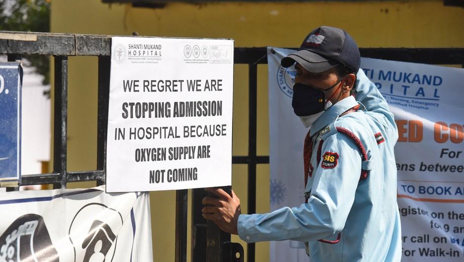 Indija postaja nov epicenter pandemije, številne države omejujejo povezave (foto: Profimedia)