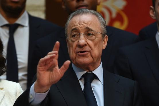 Florentino Perez zatrdil, da zgodbe o nogometni superligi ni konec