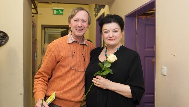 Poslovila se je dobitnica Borštnikovega prstana Ljerka Belak (foto: profimedia)