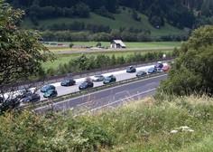 Po sprostitvi ukrepov spet povečan promet na slovenskih cestah, zlasti proti morju
