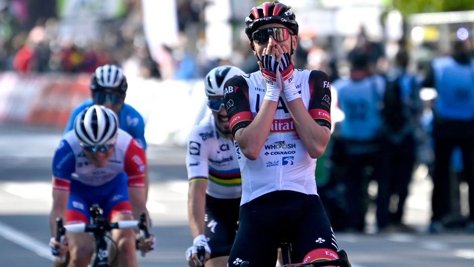 Tadej Pogačar po 23. zmagi v karieri: Trenutno le živim kolesarske sanje (foto: profimedia)