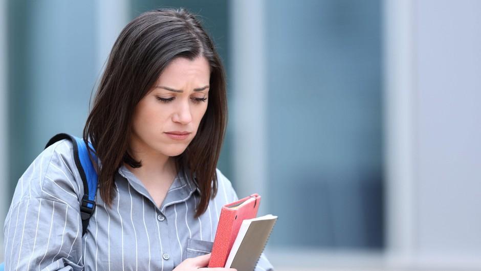 V raziskavi med študenti večina poročala o simptomih depresije in anksioznosti (foto: Profimedia)