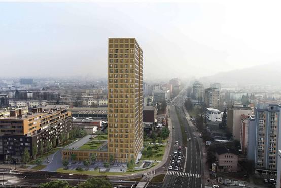 V ljubljanski Šiški kmalu začetek gradnje najvišjih stanovanjskih stavb v Sloveniji