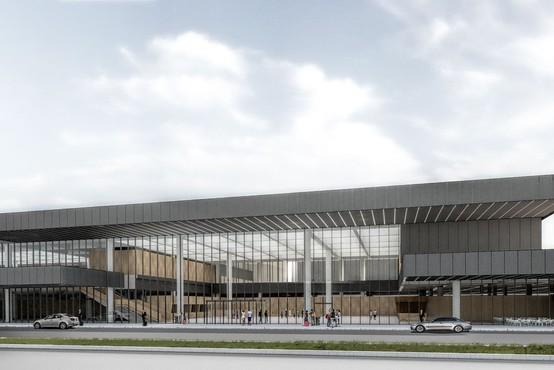 Nov potniški terminal na brniškem letališču bo kmalu nared za prve potnike