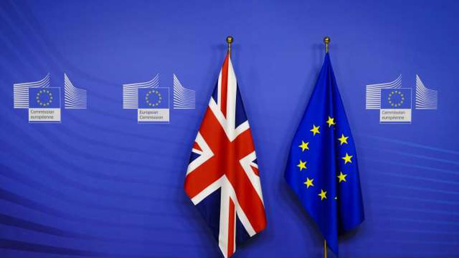 Evropski parlament potrdil sporazum o odnosih z Združenim kraljestvom po brexitu (foto: Thierry Monasse/STA)