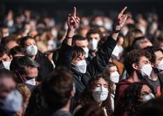 Spodbudne informacije: Na testnem koncertu v zaprti dvorani s 5000 udeleženci se nihče ni okužil