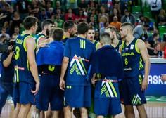 Slovenski košarkarji v Kölnu z Nemčijo, Litvo, Francijo, Madžarsko in BiH