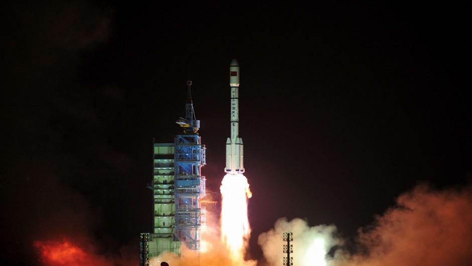 Kitajska izstrelila prvi modul za svojo vesoljsko postajo (foto: Profimedia)