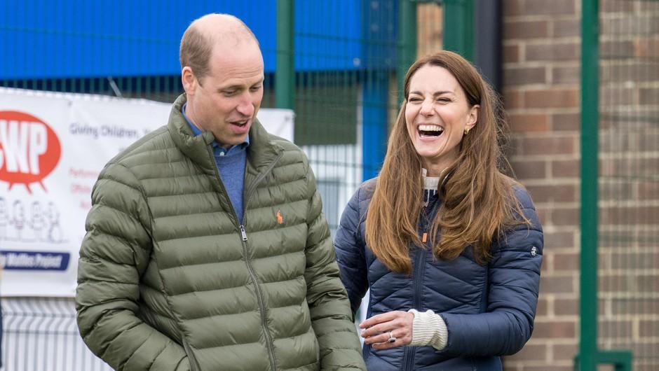 Princ William in Kate praznujeta deseto obletnico poroke (foto: Profimedia)