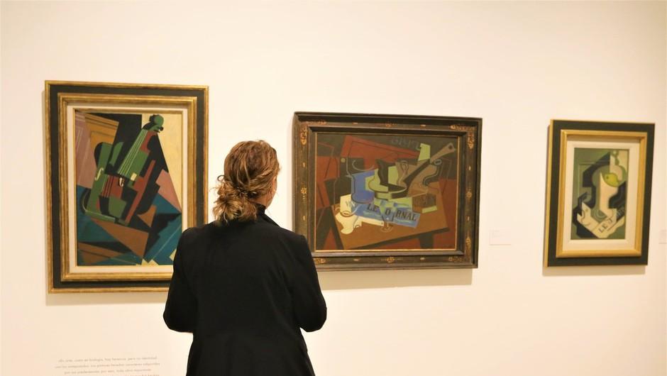 Za Picassovo sliko Portret sedeče ženske v zelenem kostimu naj bi iztržili 18 milijonov (foto: profimedia)