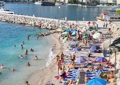 Na Hrvaškem v prvih štirih mesecih 10 odstotkov manj turistov