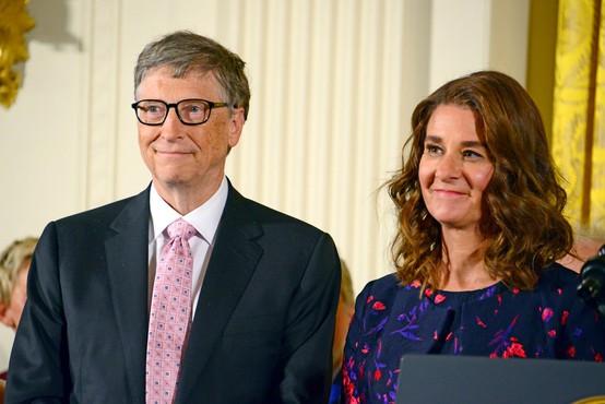 Ustanovitelj Microsofta Bill Gates in Melinda Gates sta sporočila, da se ločujeta